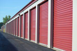 Personal storage units at Bay Street Storage.