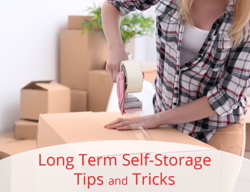 Long Term Self-Storage Tips and Tricks