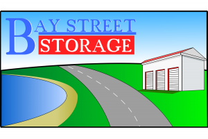 The Bay Street Storage Logo on a white background.