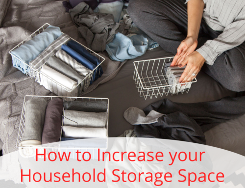 How to Increase your Household Storage Space